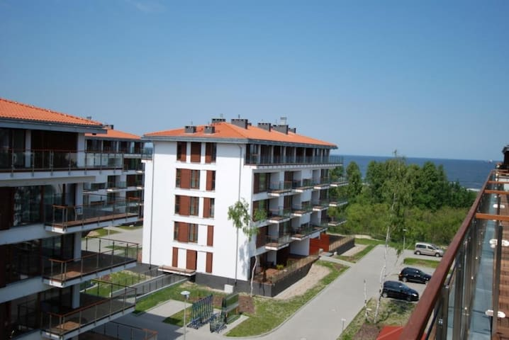 Baltic Plaza luxury sea view apartment Świnoujście - Świnoujście - Pis