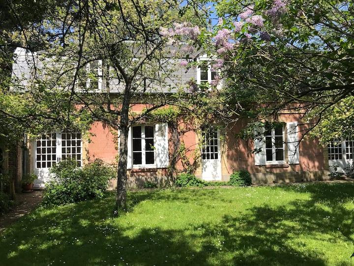 Maison normande plein centre Deauville