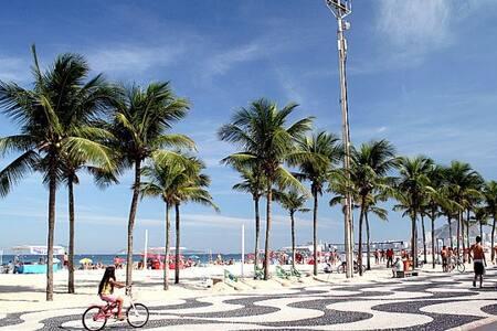 Casa em Copacabana RJ com WiFi