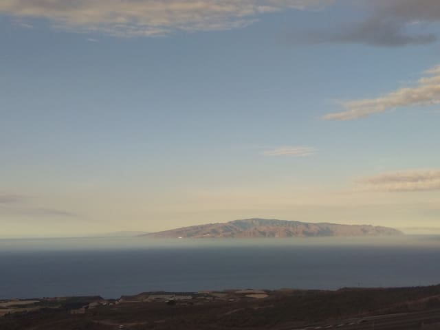 Habitación en casa con vista mar, en Tenerife Sur