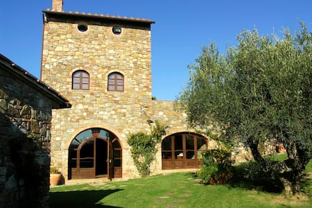 Casale & piscina, palestra, jacuzzi-40 km Grosseto - borgo san rita