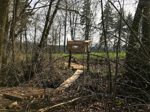 Tiny House autonome - Wood-Lodge - Lierneux - Kabin