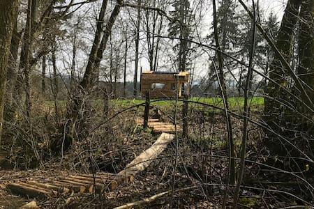 Tiny House autonome - Wood-Lodge - Lierneux - Blockhütte