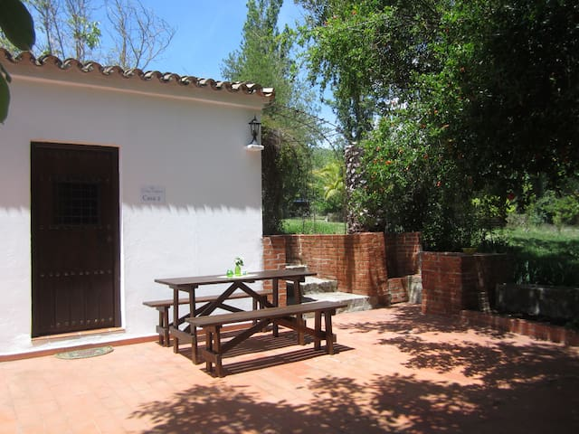 Finca Vegana, idyllic house for 4 in natural park - Bocaleones - House