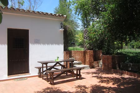 Finca Vegana, idyllic house for 4 in natural park - Bocaleones - 独立屋
