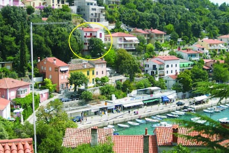 A spacious apartment in central position, seeview - Rabac - 公寓