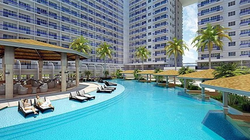 Shell Residences For rent free wifi/cable - Pasay