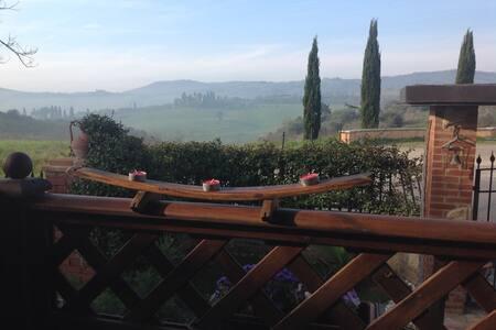 Panorama sull'antico borgo - Torrita di Siena - Wohnung