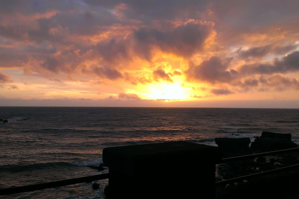 a due passi dall'appartamento.... Magnifici  tramonti!!!