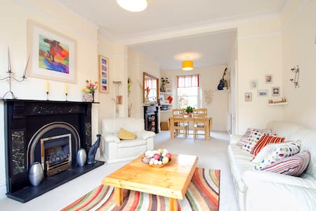 A lovely Victorian 4-bedroomed house in Truro - Truro - Haus