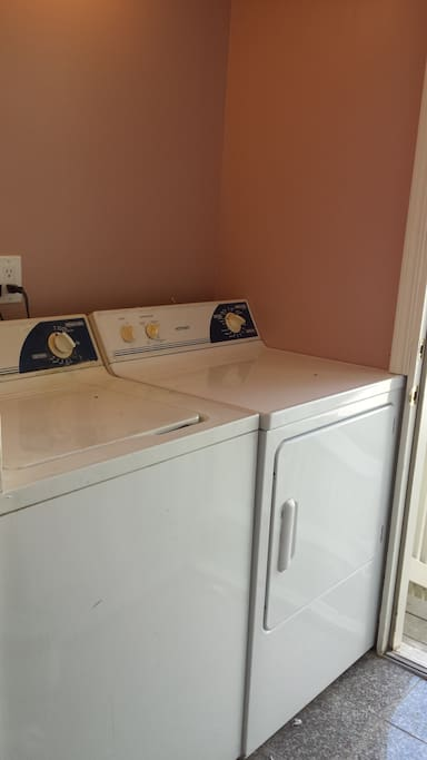 Laundry facility: washer/dryer