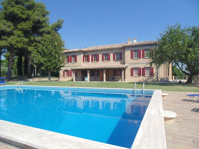 Villa Fonti for your Group - Orciano di Pesaro - Villa