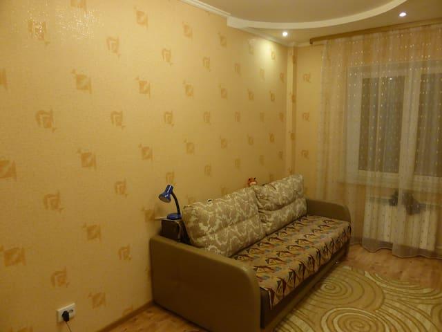 Уютная комната недалеко от Невы - Kirovsk - Apartamento