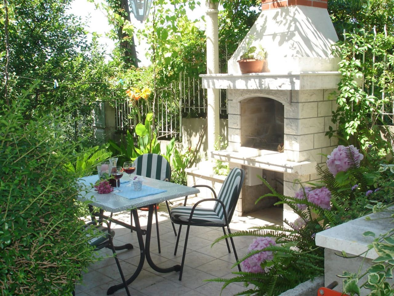 Private Garden Terrace, very secluded and quiet