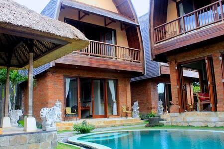People of love station,room&kitchen - Ubud - Villa