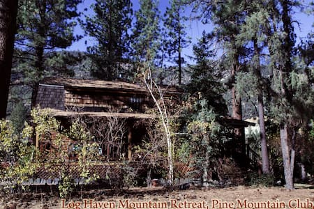 Beautiful Mountain Log Cabin  - Cabaña