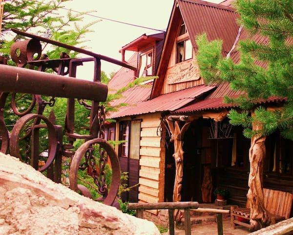 Romantická drevenica - Liptovská Lúžna