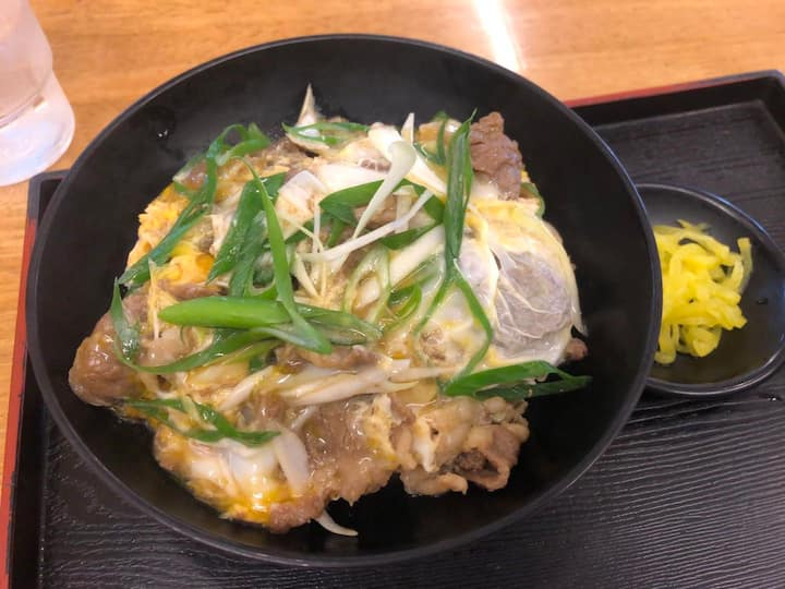 One of the Typical Donburi