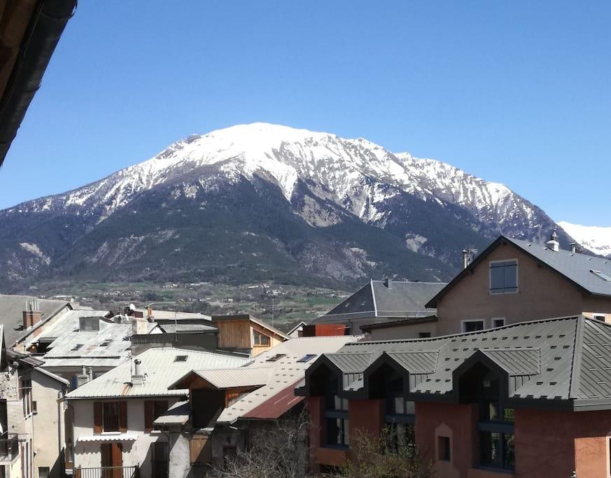 Vue de l'appartement...  Mont Orel....
