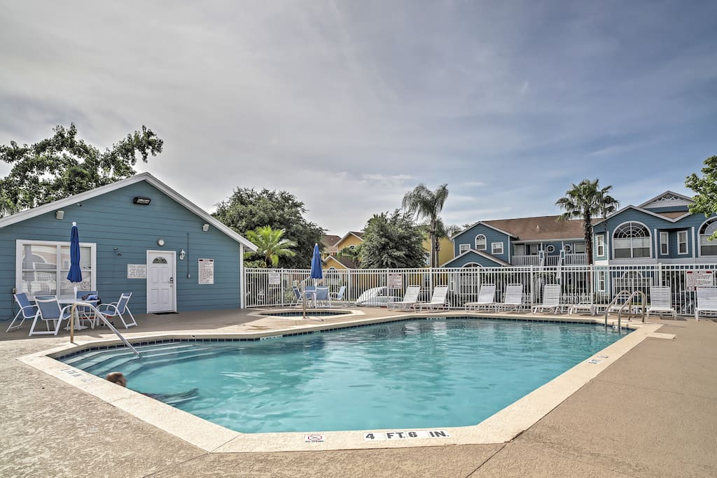 Soak up the Florida sunshine next to one of the sparkling community swimming pools!