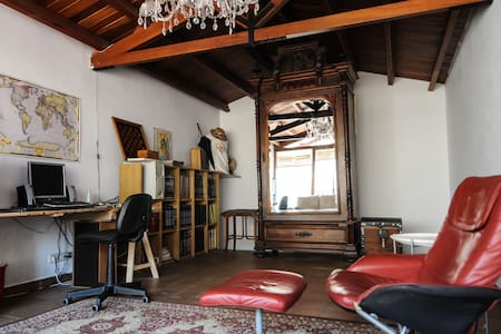 Bright & quiet Attic/Loft - 70m2 - Els Hostalets de Balenyà - 独立屋
