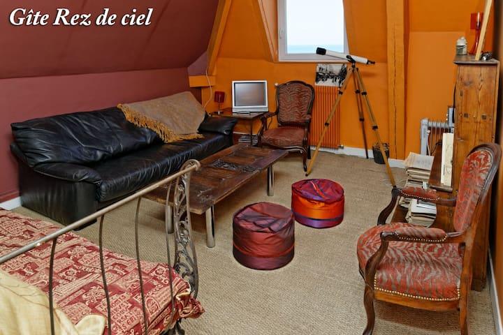 Gîte Rez-de-Ciel - Hautot-sur-Mer - Apartment