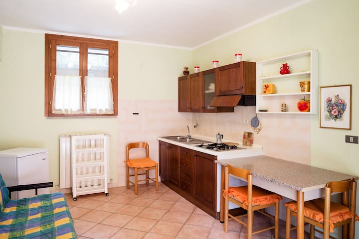 "Appartamento ""n°2"" Agrit. Sasso Rosso Maremma - Alberese - Wohnung"