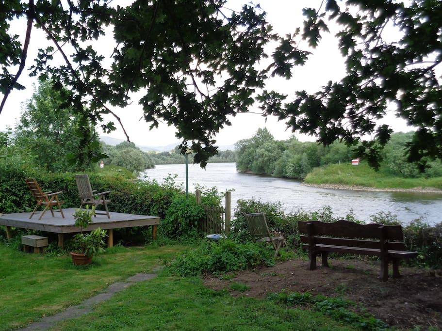 Garten zur Weser