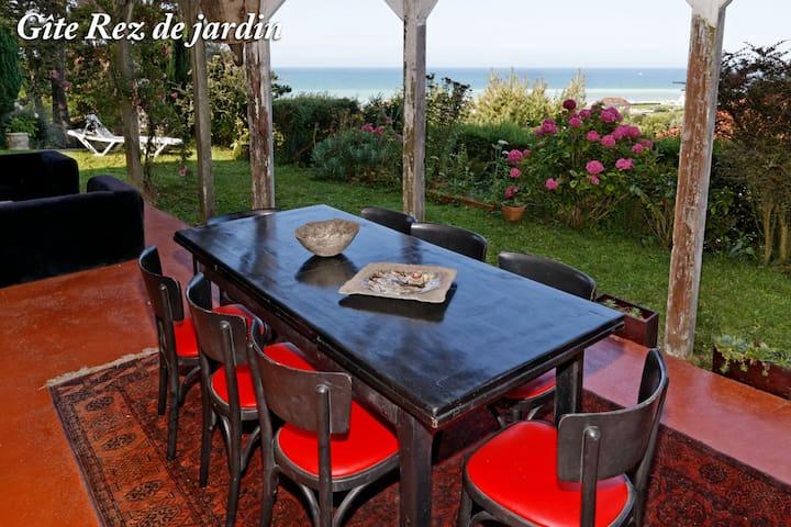 Gîte Rez-de-Jardin - Hautot-sur-Mer - อพาร์ทเมนท์