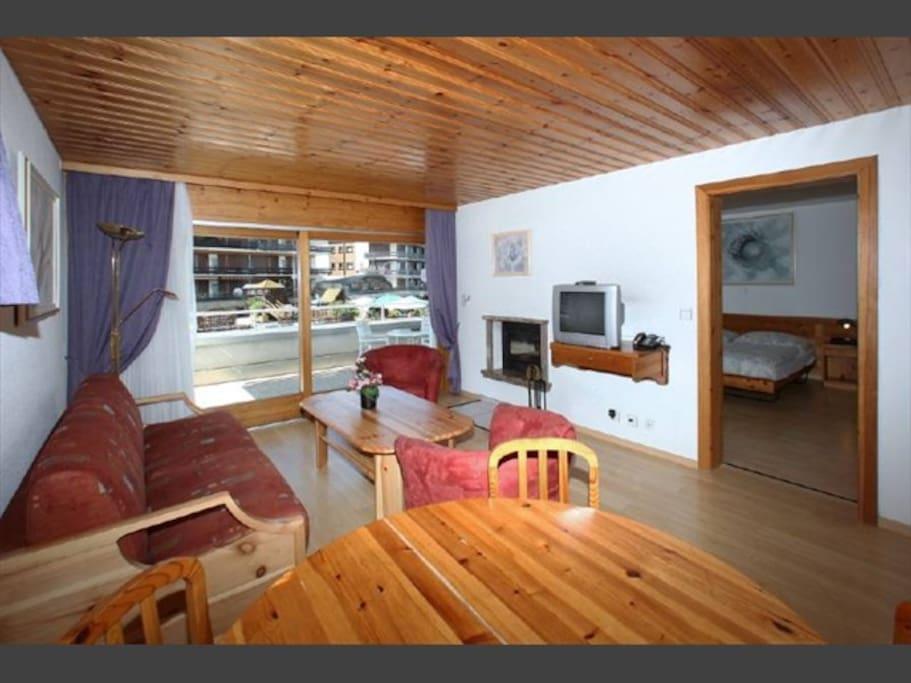Living - Chambre - Terrasse