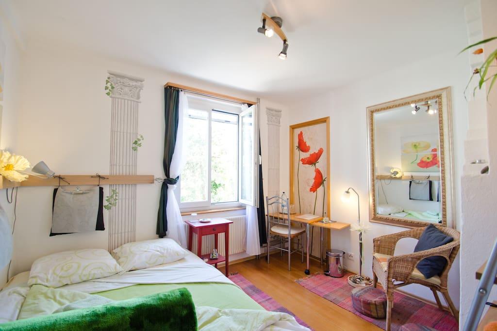 Poppy orange cozy dbd 10 min to basel station chambres d 39 h tes louer dornach soleure - Chambre d hotes orange ...