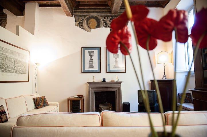 Prestigious apt in Via dei Coronari - Rome - Apartment