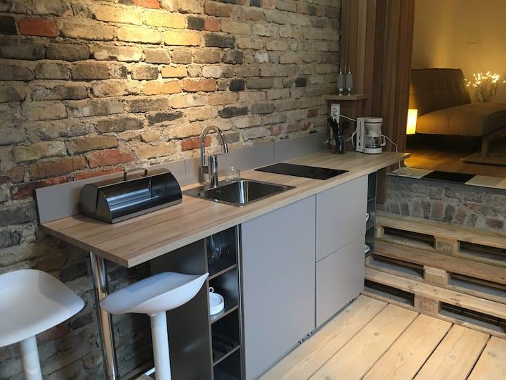 Suite indépendante / Chambre, Cuisine, mini salon