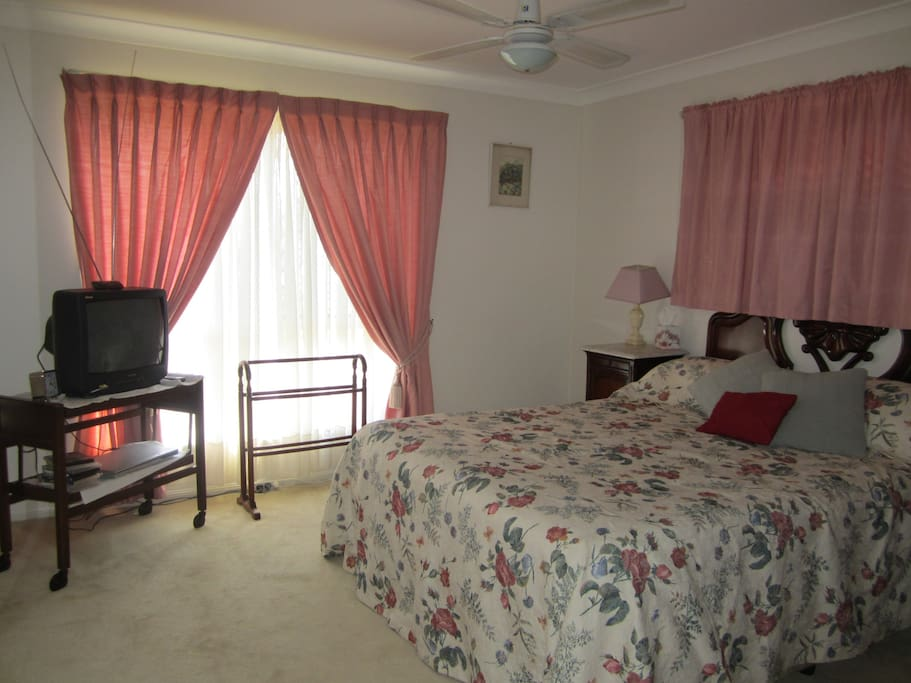 Main bedroom with powder room only.