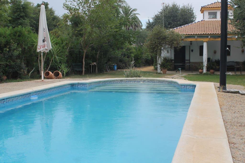 Magnifico casa rural con piscina casas de campo en for Casa rural con piscina madrid