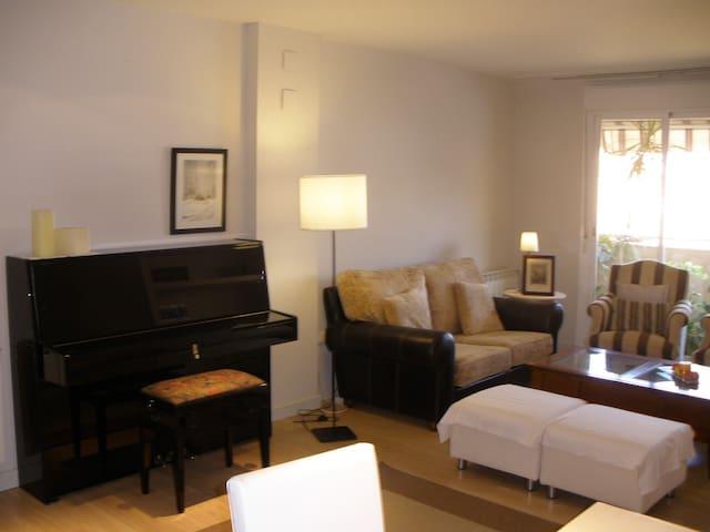 Confortable y céntrico apartamento.