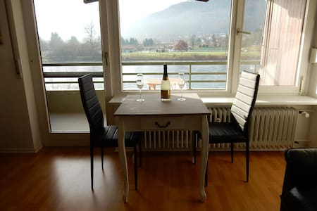 Nice flat with view over river Rhein