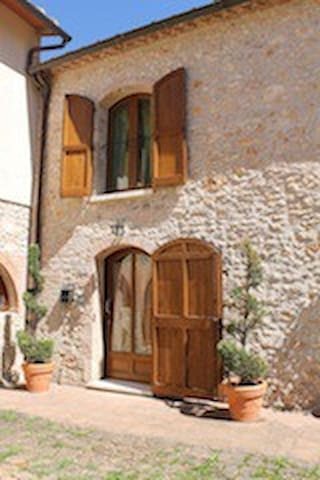 Typical Tuscan farmhouse in Chianti - モンテリッジョーニ - 一軒家