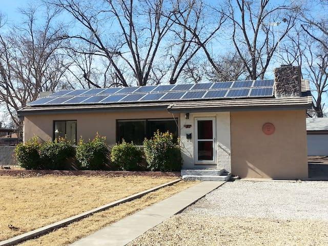 Solar home near  Carlsbad Caverns