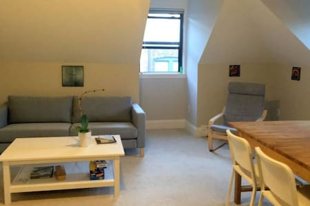 Loving couch for a night with bathroom and kitchen - Brookline - Appartamento