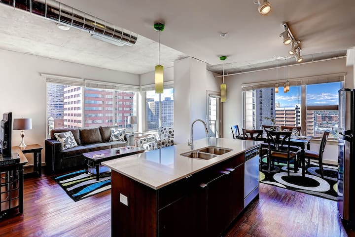 Downtown Denver, Coors Field! SL2 - Denver - Apartament