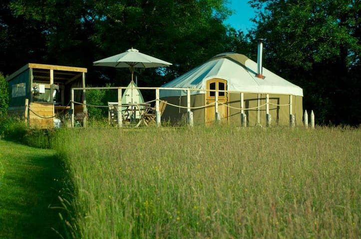 High Meadow Yurts, Brecon Beacons