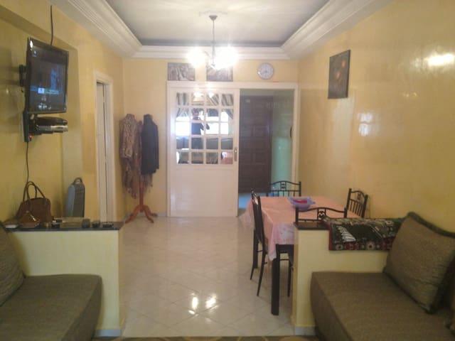 appartement a Bourgogne près de la mosquée hassan