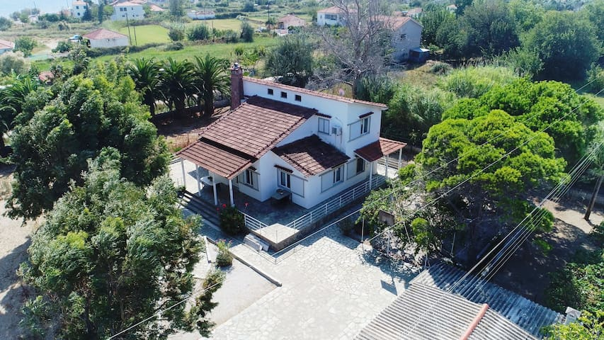 Villa cuckoo's at Gera bay. Evriaki-Lesvos Island