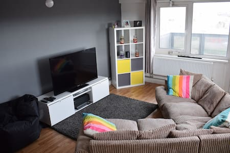 Amazing pad with views of Liverpool - Birkenhead - Appartement