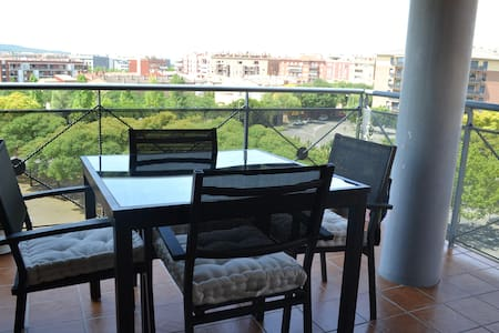 Modern apartment with balcony and roof terrace - Vilafranca del Penedès - Apartmen