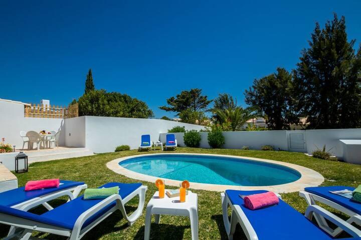 Casa do Mar com piscina privada aquecida