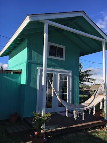 Beautiful small home with loft - Makawao - Casa