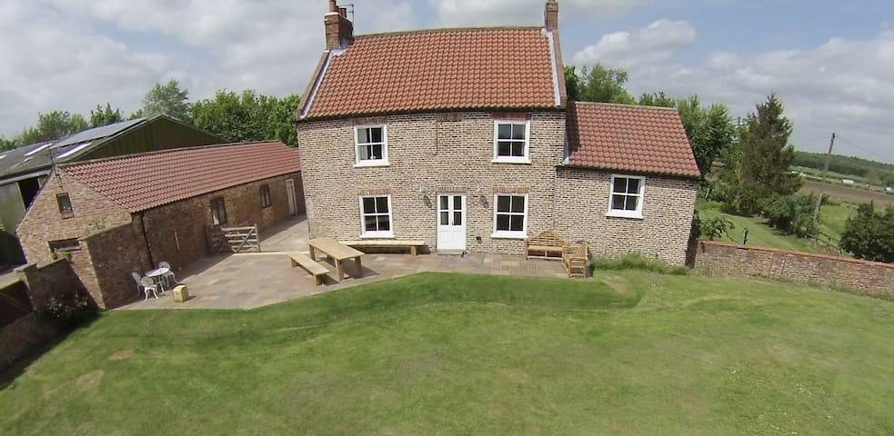 Six bedroom Yorkshire farmhouse and annex