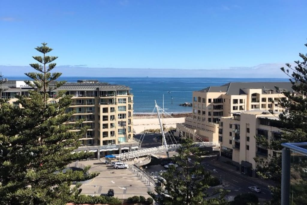 Sky high with sea views at Glenelg
